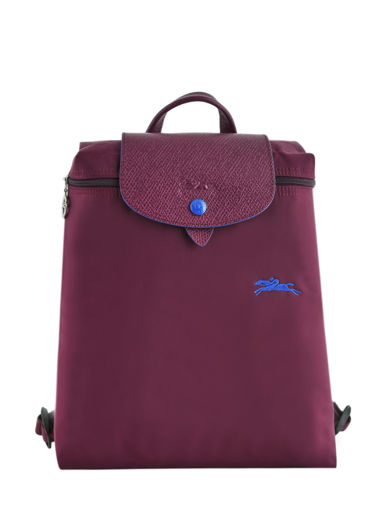 Longchamp Le pliage club Rugzak Violet