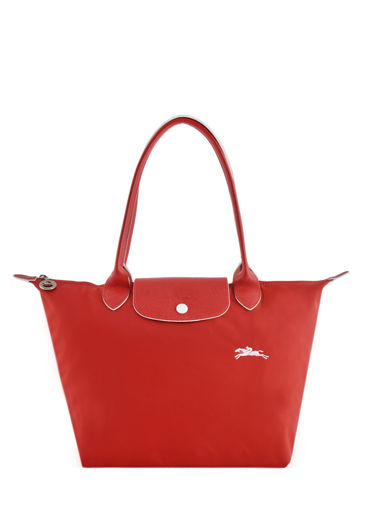 Longchamp Le pliage club Schoudertas Zwart
