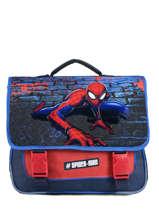 Boekentas Spiderman Blauw mask SPINI10F