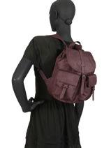 Sac à Dos 1 Compartiment Herschel Rouge classics woman 10301-vue-porte