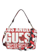 Sac Bandoulière Analise Guess Rouge analise VP740521