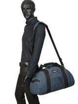 Sac De Voyage Cabine Authentic Luggage Eastpak Bleu authentic luggage K735-vue-porte