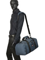 Sac De Voyage Cabine Pbg Authentic Luggage Eastpak Bleu pbg authentic luggage PBGK10B-vue-porte