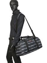 Sac De Voyage Cabine Pbg Authentic Luggage Eastpak Noir pbg authentic luggage PBGK78D-vue-porte