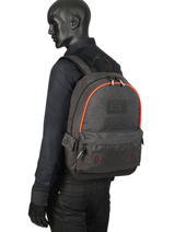 Sac à Dos 1 Compartiment Superdry Gris backpack men M9100024-vue-porte