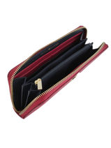 Portefeuille Tommy hilfiger Rood modern adware AW07063-vue-porte