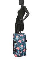 Valise Souple Pbg Authentic Luggage Eastpak Bleu pbg authentic luggage PBGK62L-vue-porte