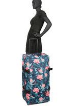 Soepele Reiskoffer Pbg Authentic Luggage Eastpak Blauw pbg authentic luggage PBGK63L-vue-porte