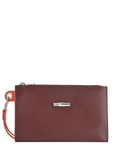 Longchamp Roseau Pochette/trousse Rouge