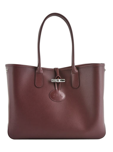 Longchamp Roseau Schoudertas Rood