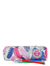 Trousse 1 Compartiment Love love Rose candy LPK63253-vue-porte