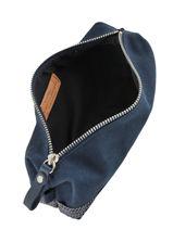 Trousse écolier Le Cabas Paillettes Vanessa bruno Bleu cabas 1V42030-vue-porte