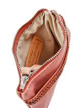 Porte-monnaie Le Cabas Paillettes Vanessa bruno Rose cabas 1V42035-vue-porte