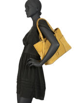 Sac Shopping Obstacle Etrier Jaune obstacle EOBS03-vue-porte
