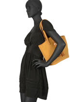 Sac Shopping Iris Woomen Beige iris WIRIS05-vue-porte