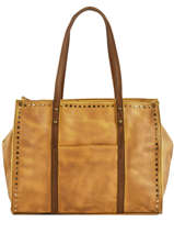 Sac Shopping Authentic Synderme Torrow Marron authentic TAUT01