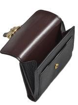 Porte-monnaie Tabby Cuir Coach Noir tabby 76527-vue-porte
