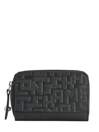 Longchamp La voyageuse lgp Porte monnaie Noir