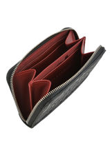 Longchamp La voyageuse lgp Porte monnaie Noir-vue-porte