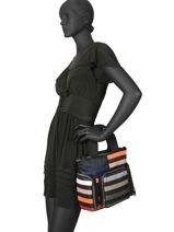Cabas Forever Nylon Sonia rykiel Multicolore forever nylon 2279-38-vue-porte
