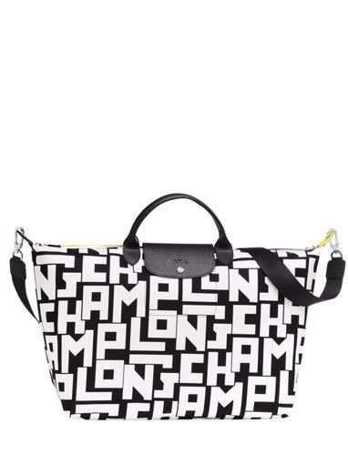 Longchamp Le pliage lgp Sac de voyage Blanc
