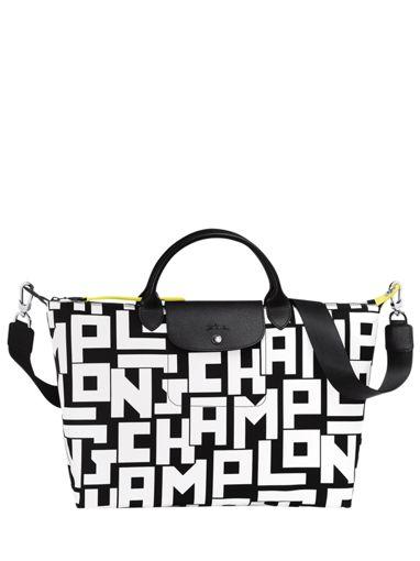 Longchamp Le pliage lgp Sac porté main Noir