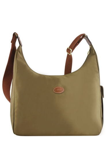 Longchamp Le pliage Sac porté travers Vert