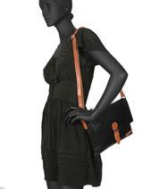 Sac Bandouliere Brown Miniprix Noir brown H6708-vue-porte
