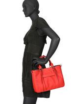 Longchamp Handtas Rood-vue-porte