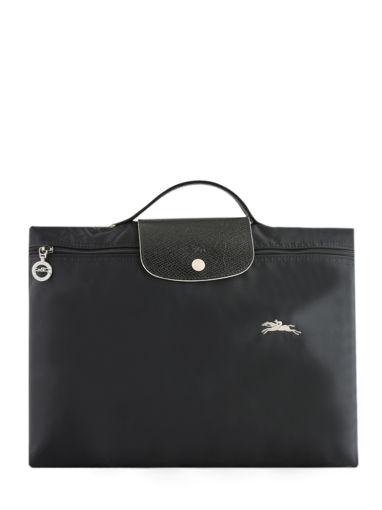 Longchamp Le pliage club Serviette Noir