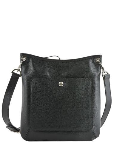 Longchamp Le foulonné Sac porté travers Noir