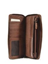 Portefeuille Cuir Biba Marron accessoires BT10-vue-porte