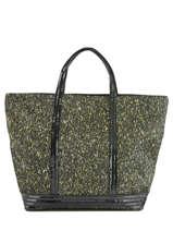 Le Cabas M+ Le Cabas Lurex Paillettes Vanessa bruno Noir cabas 47V40411