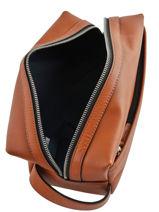 Toiletzak Casual Leder Tommy hilfiger Bruin casual leather AM05316-vue-porte