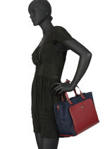Sac Trapeze Th Elegant Tommy hilfiger Rouge th elegant AW07301-vue-porte
