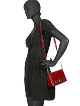 Cross Body Tas Uptown Chic Guess Rood uptown chic PT730178-vue-porte