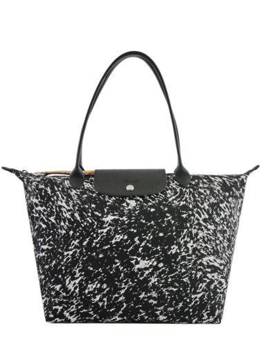 Longchamp Le pliage appaloosa Besace Noir