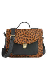 Cross Body Tas Leopard Paul marius Zwart leopard GEORGLEO