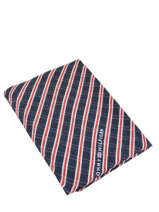 Damessjaal Tommy Tommy hilfiger Blauw accessoires AW07220