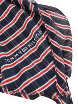 Foulard Femme Tommy Tommy hilfiger Bleu accessoires AW07220-vue-porte