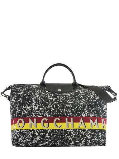 Longchamp Le pliage appaloosa Sac de voyage Noir