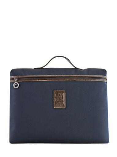 Longchamp Boxford Aktetas Blauw