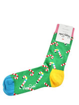 Sokken candy cane-HAPPY SOCKS-vue-porte