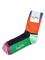 Chaussettes stripes-HAPPY SOCKS-vue-porte