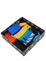 Cadeauset Sokken The Beatles 3 Paar Happy socks Zwart pack XBEA08