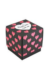 Coffret cadeau love 3 paires-HAPPY SOCKS
