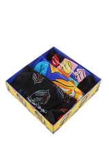 Coffret Cadeau Happy socks Multicolore pack XRLS08