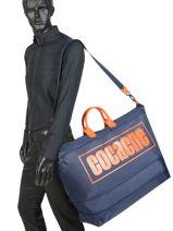 Longchamp Cocagne Sac de voyage Bleu-vue-porte