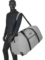 Reistas Authentic Luggage Eastpak Grijs authentic luggage K30E-vue-porte