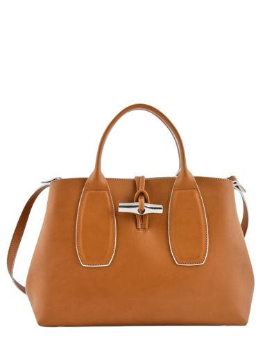 Longchamp Roseau luxe Handtas Bruin
